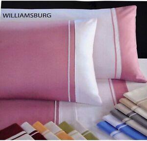 Copripiumino-Matrimoniale-Cotone-Raso-Completo-Cotton-Joy-Williamsburg