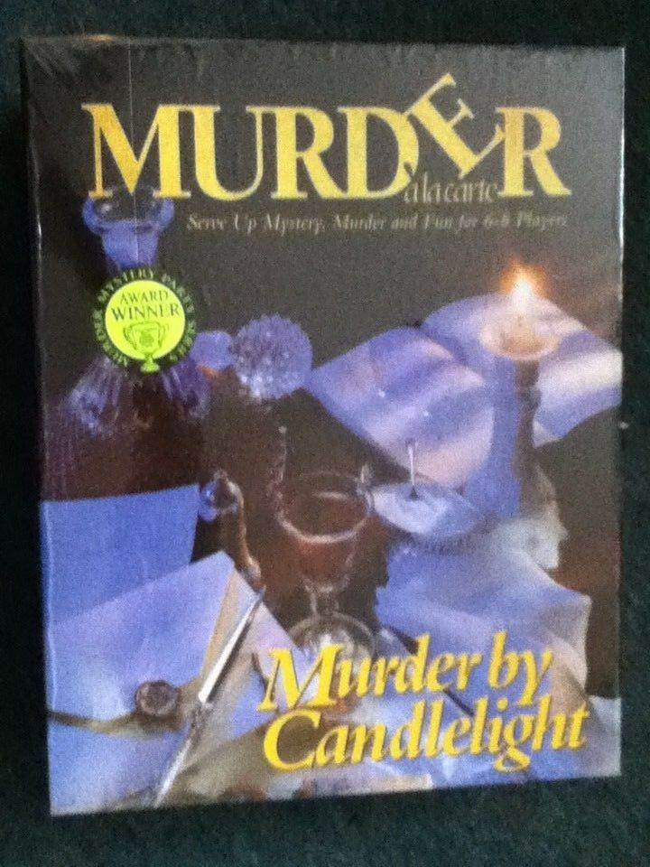 Paul Lamond Games Murder a la Carte, By Candlelight New and sealed]