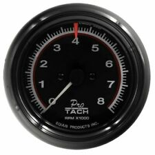 Equus 3 38 Inch Black Faced Mechanical Electrical Tachometer 6088 0 8000 Rpm