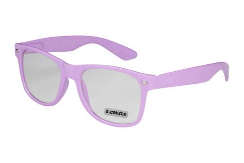 Nerd Brille Nerdbrille ohne Stärke Vintage Fensterglas Männer Frauen schwarz