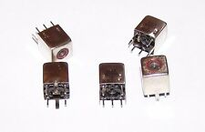 5 x  TOKO BKACS K3894A   INDUCTOR VARIABLE  GENUINE TOKO 10K QRP COIL