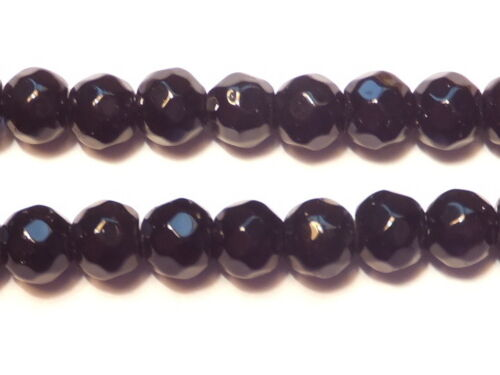 3.5mm//0.5mm hole Pack of 100 Opaque Black 3.5mm Faceted Glass Beads