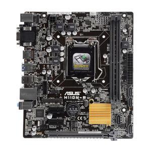 Asus-H110M-R-Motherboard-Rev-1-01-Sock-1151-H110-DDR4-S-ATA-600-Micro-ATX