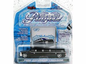 FORD Excursion Limousine - PlayerZ - black - Maisto 1:64