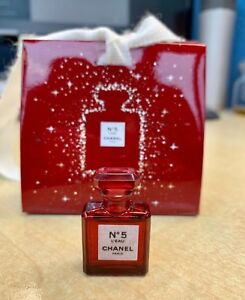 5e6ba695 Details about New CHANEL N° 5 L'EAU EDT RED EDITION LIMITED 2018 1.5ml  Miniature Collectable