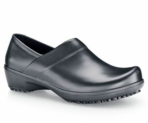 b96fe6f9ae83 Shoes for Crews Nurse Clogs Slip Water Resistant Luna Rubber Black Women 7  4009