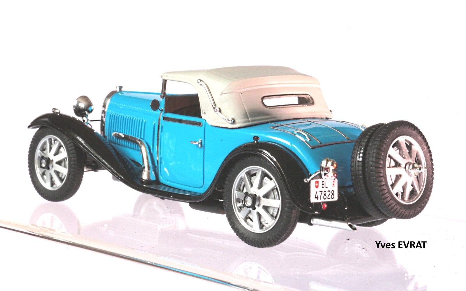 BUGATTI T55 cabriolet Billeter & Cartier    55206 1 43 EVRAT limit. 60 ex 0131d9