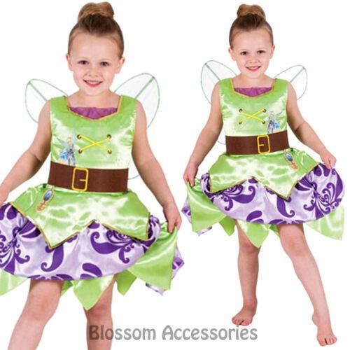 CK668 Tinkerbell Pirate Fairy Disney Fairytale Girls Costume Book Week Wings