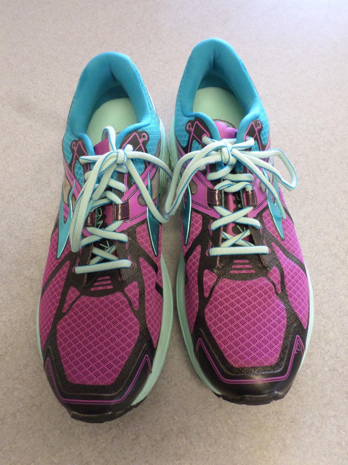 Brooks  Ravenna 7  purple and bluee running shoes. Women's 12 (eur 44.5)