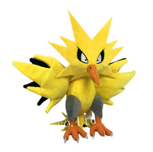 Pokemon-Pocket-Monsters-Zapdos-Farci-Doux-Peluche-Jouet-Poupee