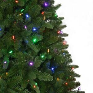 Details About Home Accents Holiday 7 5 Pre Lit Color Change Led Sierra Nevada Christmas Tree