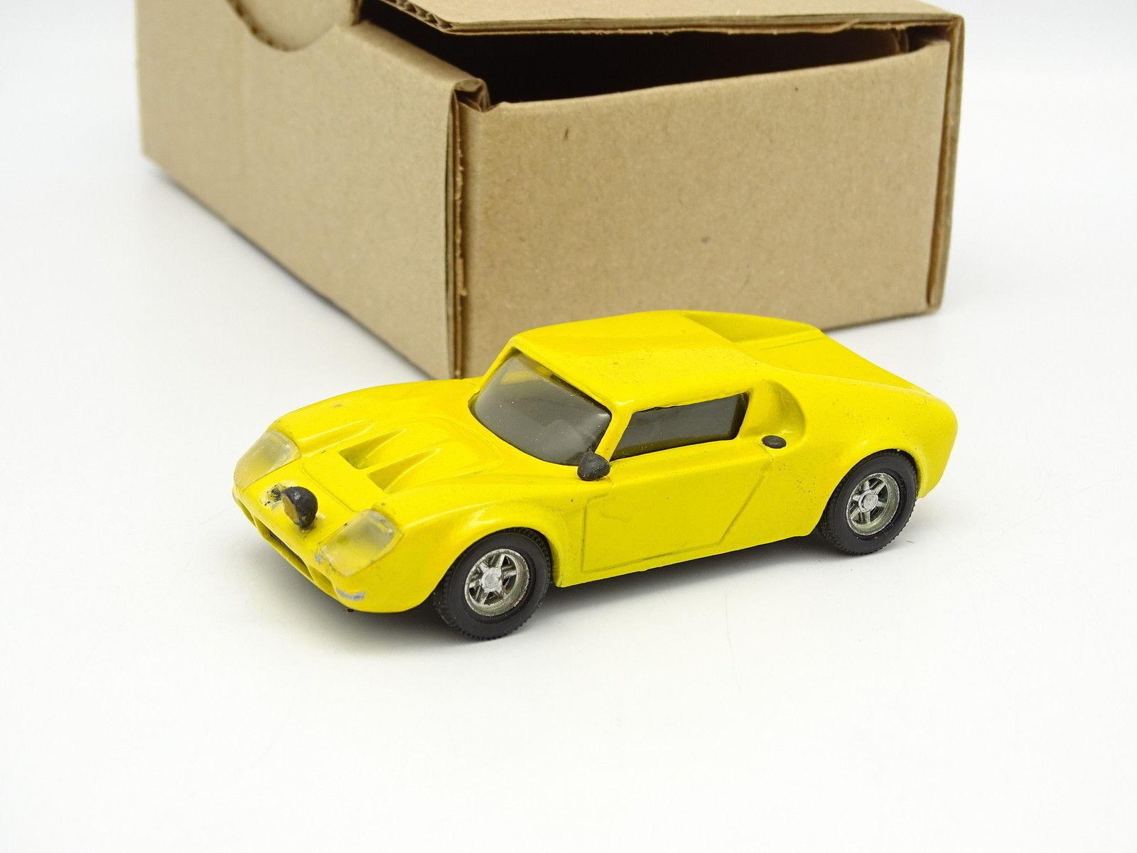 Quiralu assembled kit sb 1 43 - jide 1600 renault yellow