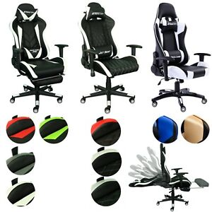Bürostuhl Gamer Stuhl Chefsessel Schreibtischstuhl Drehstuhl Schalensitz GAMING