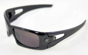 13058cdf2d Image is loading NEW-Oakley-Crankcase-Sunglasses-Polished-Black-Warm-Grey-