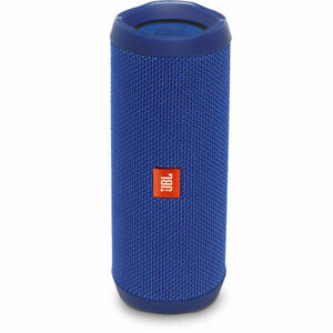 JBL Flip 4 Waterproof Portable Bluetooth Speaker - Blue JBLFLIP4BLUAM