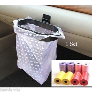 BD-2Roll-20PCs-Car-Rubbish-Bags-Eco-friendly-Trash-Garbage-or-1-Hanger-Set