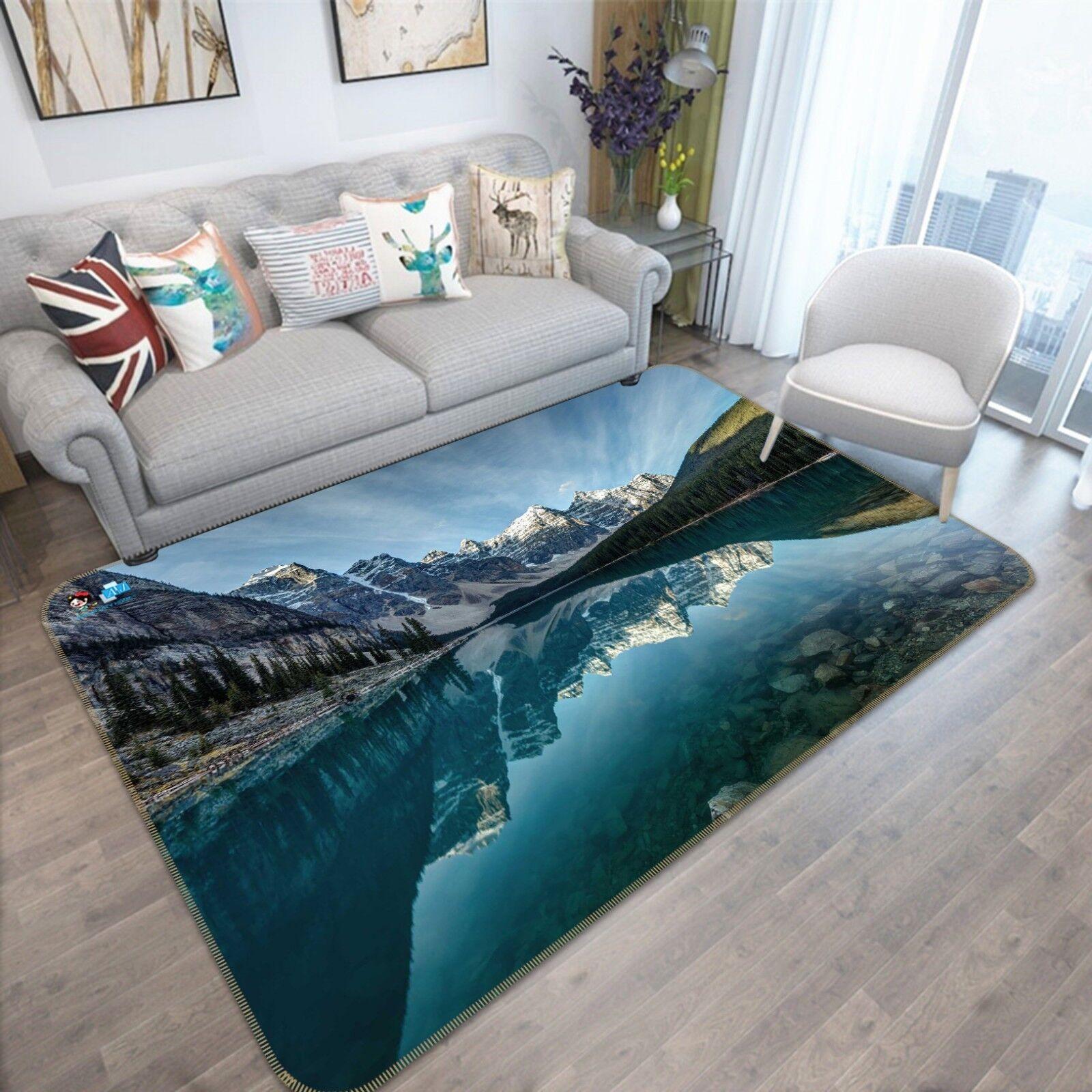 3D Snow Mountain 889 Non Slip Rug Mat Room Mat Quality Elegant Photo Carpet AU