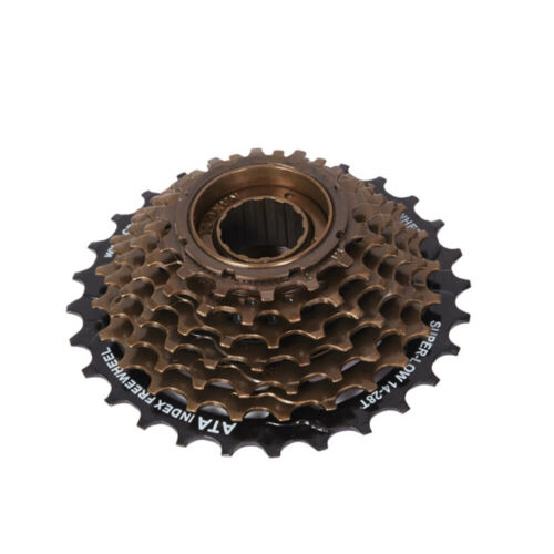 7 Speed Thread on Cassette 14-28T shimano Bicycles Ebike Freewheel for MTB eBike