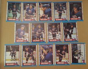 1989-90-OPC-NEW-YORK-ISLANDERS-Select-from-LIST-NHL-HOCKEY-CARDS-O-PEE-CHEE