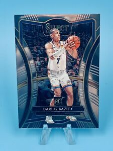Darius-Bazley-2019-20-Panini-Select-Premier-Level-Rookie-RC-116-OKC-Thunder-GEM