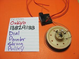 ONKYO-13829133-DIAL-POINTER-WITH-STRING-AND-BIG-PULLEY-TX-4500-TX-2500-RECEIVER