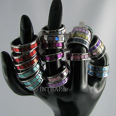 Ring - Farbring in Wunschfarbe - Fingerring Edelstahlring Herrenring Damenring