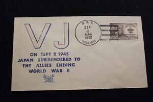 Naval-Housse-1950-Bateau-Cancel-5TH-Anniversaire-V-J-Jour-Uss-Yosemite-AD-19