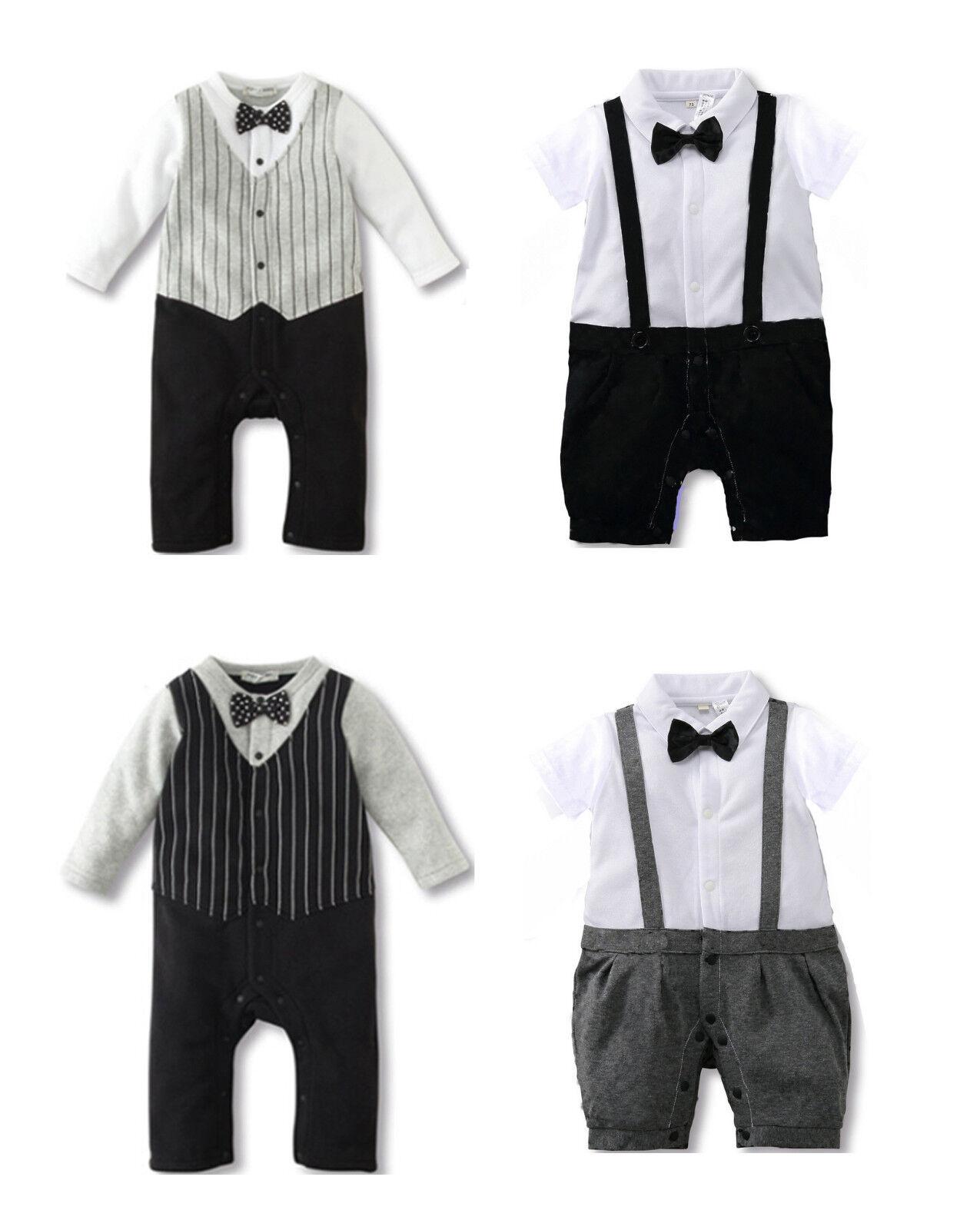 1-tlg baby junge festlich festanzug taufe anzug spieler