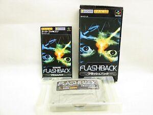 FLASHBACK-Flash-Back-Item-ref-022-Super-Famicom-Nintendo-Japan-Game-sf