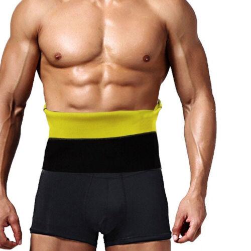 S Mens Gym Sauna Sweat Suit Body Shaper Belly Tummy Trimmer Slimming Shirt Vest*