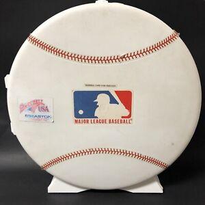 VINTAGE-SKILCRAFT-MLB-BASEBALL-GENUINE-AUTHENTIC-PLASTIC-CARD-CASE-WALL-MOUNT