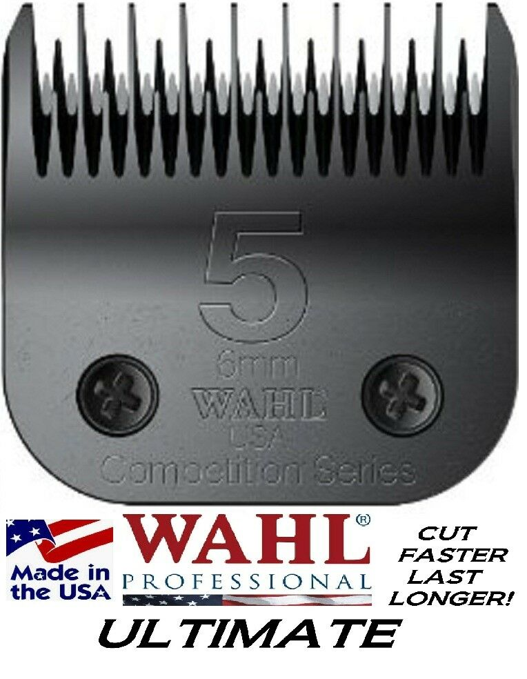 WAHL ULTIMATE COMPETITION Pet Grooming 5 SKIP BLADEFitMost Oster,Andis Clipper