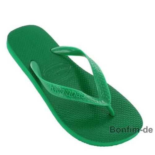 Zehentrenner Sandale Badelatschen Zehensteg Havaianas Top wald grün 35//36 SALE