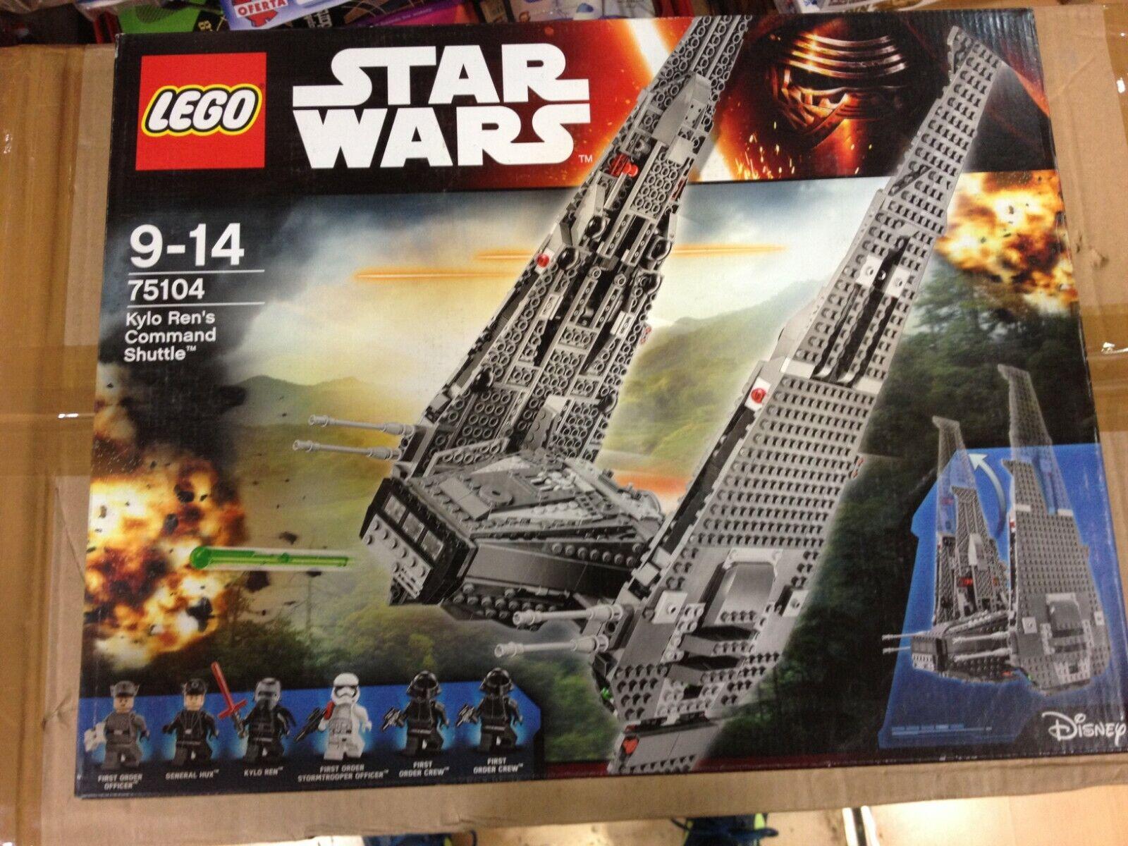 LEGO STAR WARS KYLO REN`S COMMAND SHUTTLE,Ref.75104