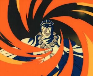 Jojo-039-s-Bizarre-Adventure-OVA-Anime-Cel-Animation-Art-Avdol-Crossfire-Hurricane