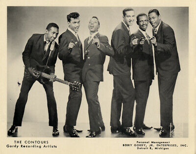 THE CONTOURS GLOSSY POSTER PICTURE PHOTO PRINT MUSIC MOTOWN R /& B SOUL