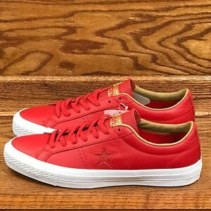 51eaefa4c9d9 Converse One Star Leather Ox Casino Sand Dune White Shoes Size Men ...