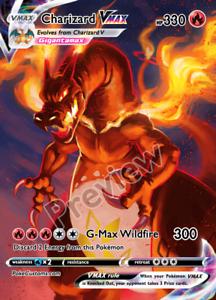 Charizard-VMAX-amp-Shadow-chariard-Vmax-Custom-Pokemon-Card