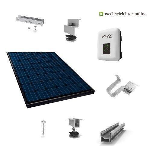 3600Wp Photovoltaikanlage Monokristallin mit WLAN