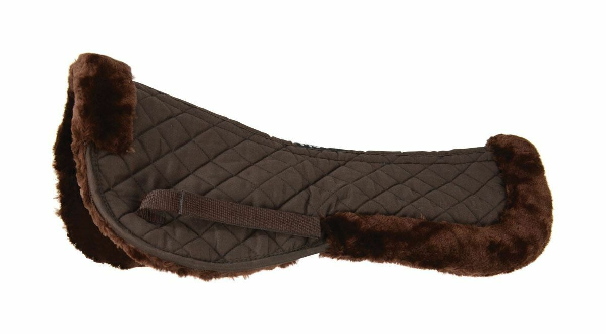 HySpeed Comfrortable Soft Stylish Fashionable Riding Equine Fab  Fleece Half Pad  for sale online