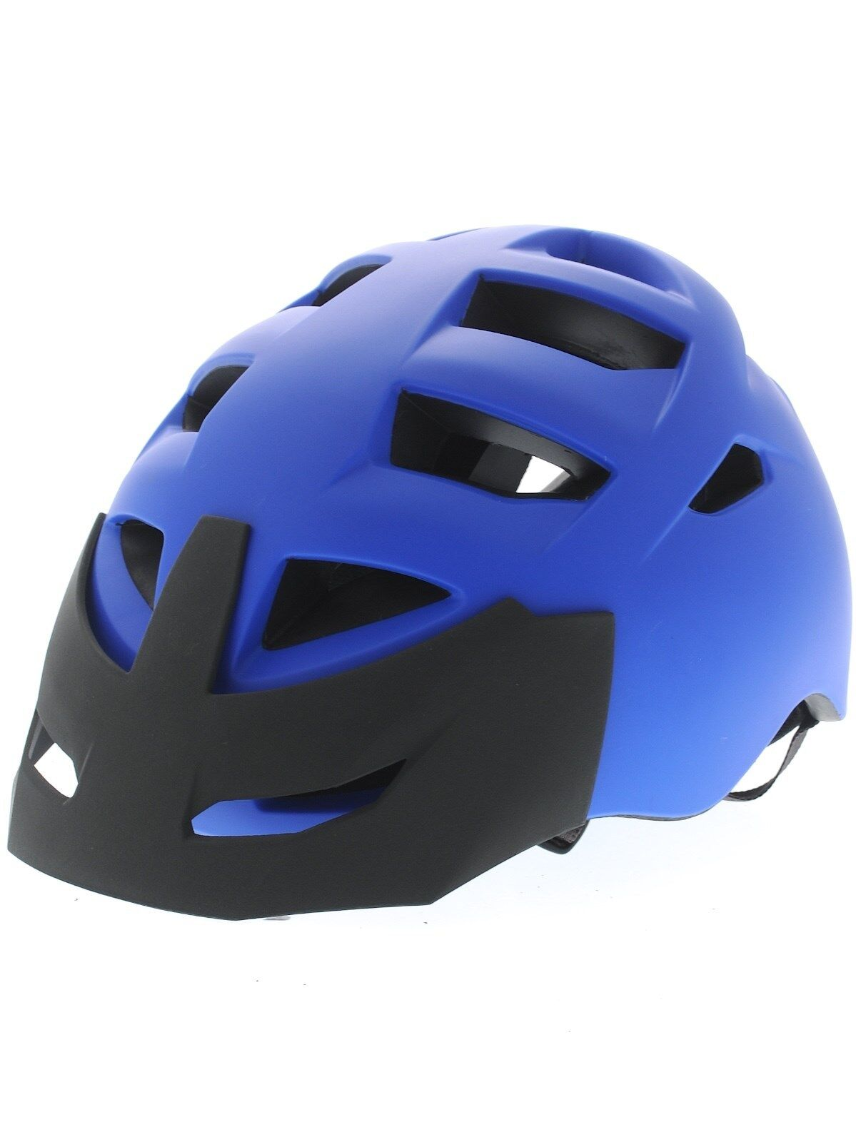 Bern Morrison Zipmold Bicicletta Casco da Bicicletta,Gara Blu S-M L-XL XXL-XXXL