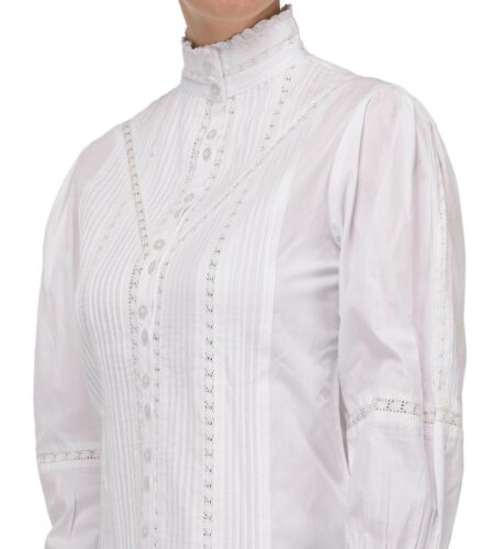 Blouse White Long Blouse Long Sleeve White Victorian Victorian Rafw8qxPXw