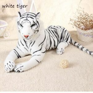 30cm Hot Home Stuffed Toy Throw Pillow Simulation Tiger Plush Doll