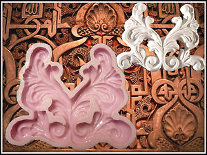 99 Gießform Stuck Seife Machen Blume Verzierung Silikonform Ornament Relief