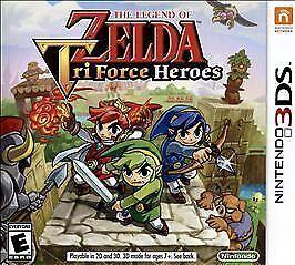 Legend of Zelda: Tri Force Heroes (Nintendo 3DS, 2015)