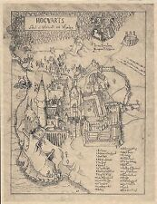 Harry Potter Hogwarts School Of Witchcraft & Wizardry Map > Flyer Prop/Replica