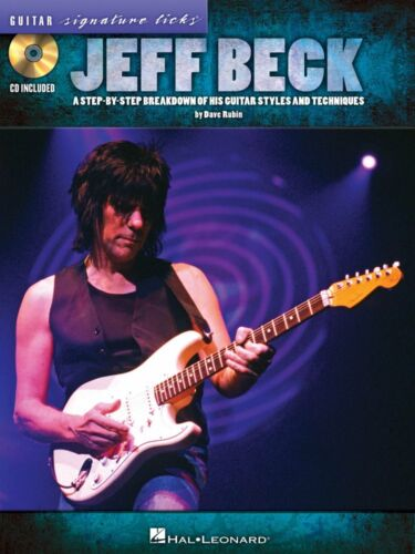 Jeff Beck A Breakdown of His Guitar Styles and Techniques Tablature 000696427