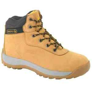 SAFETY WORK PLUS PANOPLY LH840 STEEL DELTA TOE LEATHER BOOTS CAP YfI6byvm7g