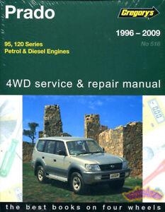 prado shop manual land cruiser service repair toyota book lexus gx rh ebay com land cruiser prado workshop manual land cruiser prado lj120 repair manual