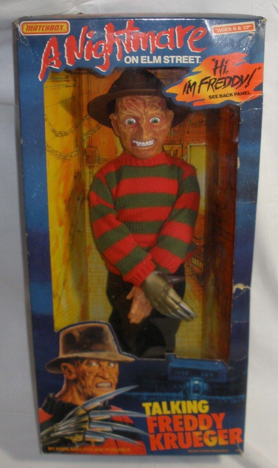 Nightmare on on on Elm street Talking Freddy Krueger Matchbox 3f646f